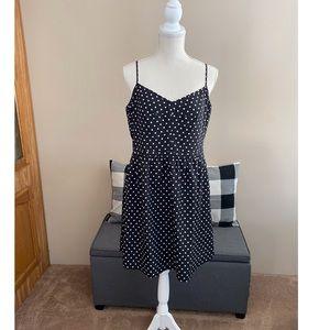 NWT J Crew Polka Dot Dress Size 14